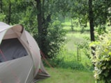 Pitch - Trekking Packages : tent + bikes without electricity - Camping de Mépillat