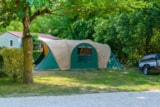 Pitch - Big Size Close to Nature Pitch (without electric hook-up) - Camping Sites et Paysages LE MOULIN
