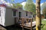 Rental - Tradition Mobil-home - 3 bedrooms - Camping Sites et Paysages LE MOULIN