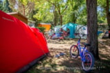 Pitch - Trekking Package by foot or by bike - Camping Sites et Paysages LE MOULIN
