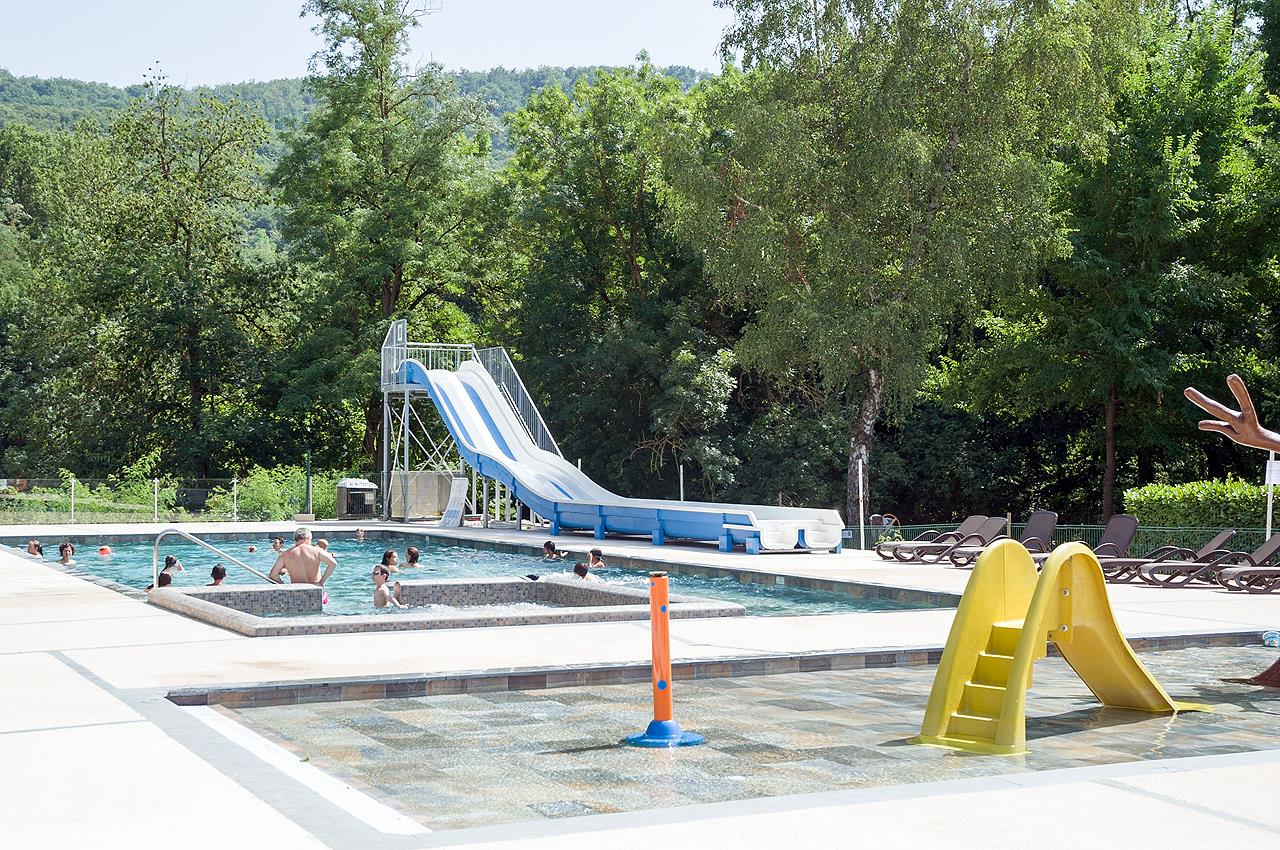 Zonas de baño Camping Sites et Paysages LE MOULIN - Martres Tolosane