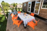 Rental - COTTAGE FAMILIAL - 3 bedrooms - Camping Le Paradis