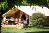 Rental - CANADIEN TENT - 2 bedrooms - Camping Le Paradis