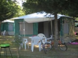 Rental - Canvas bungalow Caraibes 18m² - without sanitary equipment - Airotel Camping Domaine Lac de Miel