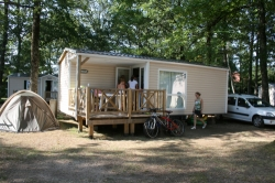 Huuraccommodaties - Cottage / Loggia 2 Kamers - Airotel Camping Domaine Lac de Miel