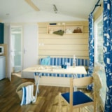 Rental - Cottage / loggia 2 Bedrooms - Airotel Camping Domaine Lac de Miel