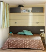 Rental - Cottage Riviera 2 Bedrooms - Airotel Camping Domaine Lac de Miel