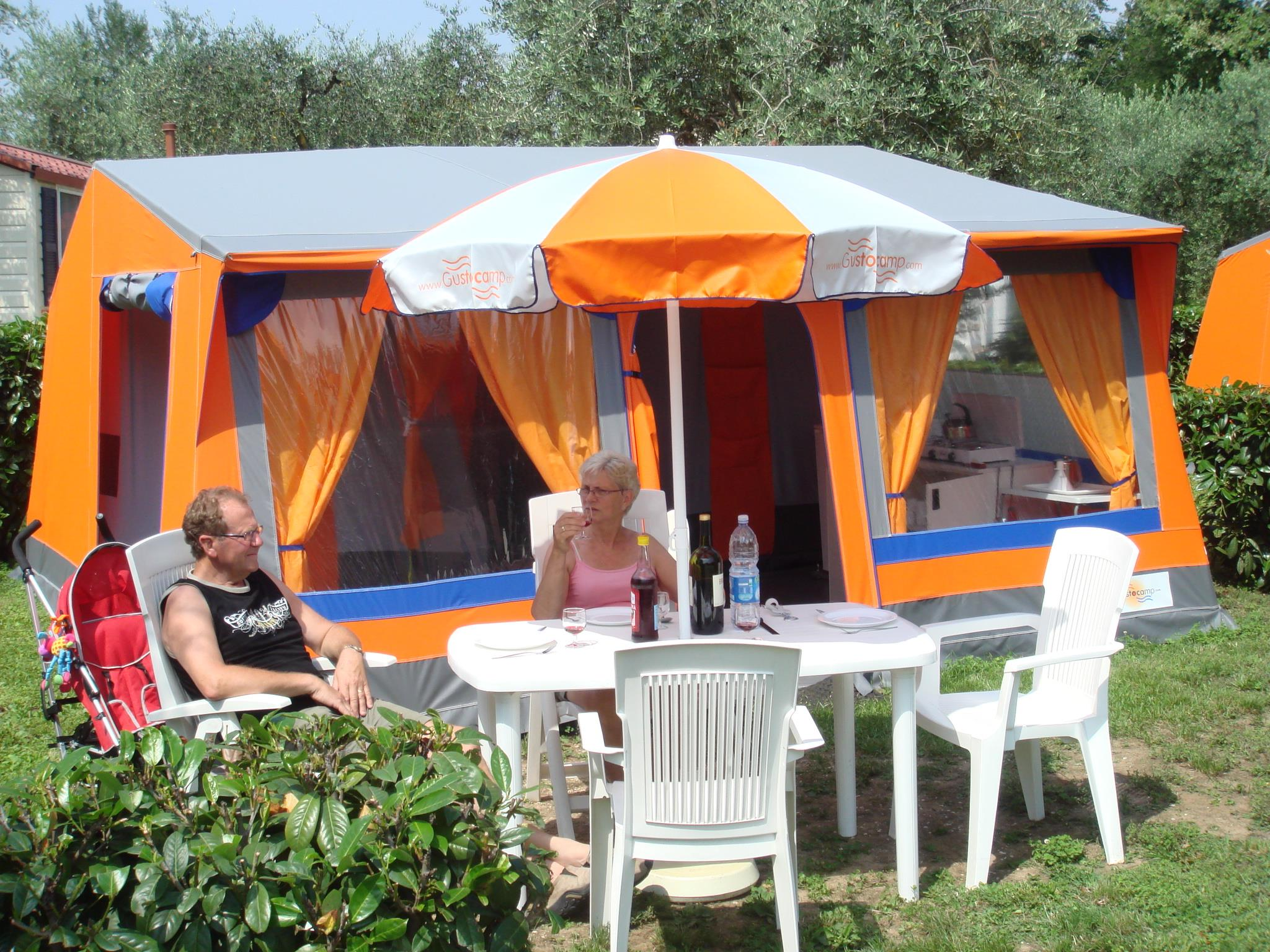 Location - Bungalow Toile - Camping Tonnara