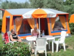 Rental - Canvas bungalow - Camping Tonnara