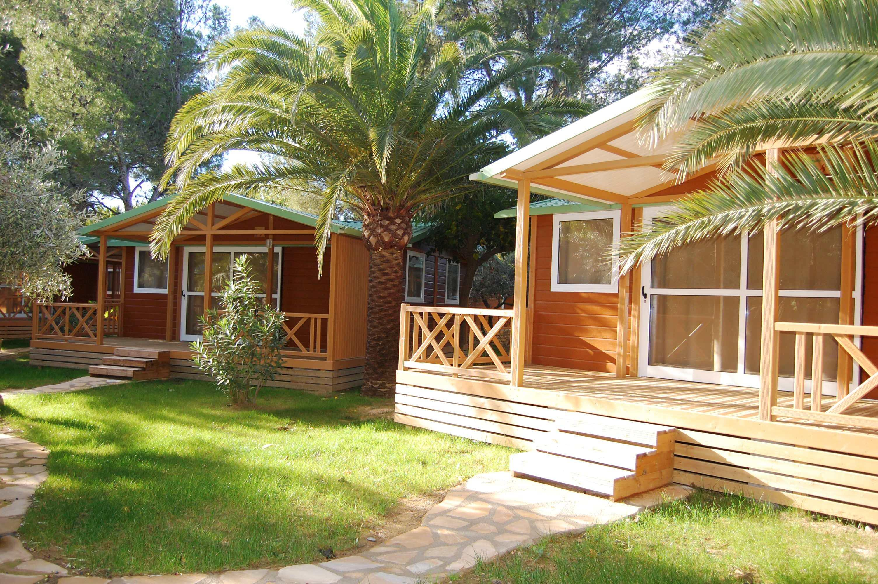 Location - Chalet Luxe (3 Chambres) - Camping La Torre del Sol