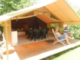 Rental - Safari tent - Camping Baalse Hei