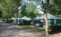 Rental - Furnished Bungalow Canvas Trigano - 2 Bedrooms (Without Toilet Blocks) - Camping Les Trois Lacs du Soleil