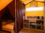 Rental - Safari Tent 2 Bedrooms (Without Toilet Blocks) - Camping Floreal Het Veen