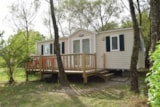 Rental - Mobil home 3 Bedrooms per week - Camping  Etangs de Plessac