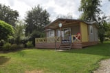 Rental - Chalet 3 Bedrooms per week - Camping  Etangs de Plessac