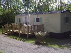 Rental - Mobile-home Bergerac 29m²  - 2 bedrooms + terrace - Camping du Coucou
