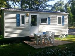 Rental - Mobile-home Eco 19m²  - 2 bedrooms + terrace - Camping du Coucou