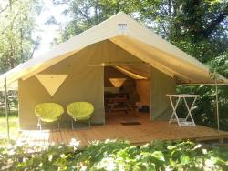 Rental - Tent Confort 30m² + electricity - Camping du Coucou