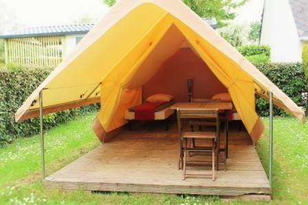 Accommodation - Canada Treck Tent - CAMPING LE NEPTUNE