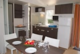 Rental - Mobile home Confort + 29m² (3 bedrooms) with covered terrace - Flower Camping Le Château