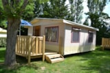 Rental - Lodge on piles Confort + 27m² (2 bedrooms) - Flower Camping Le Château