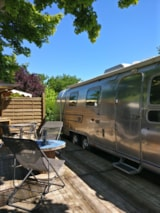 Rental - Caravan Airstream - With Private Facilities - Flower Camping Le Château