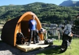 Huuraccommodaties - DE POD® ORIGINAL - Camping Tunnel