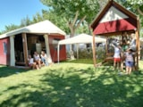 Rental - Mini Lodge Lagrein Plus, private garden - Camping Village Eurcamping Roseto