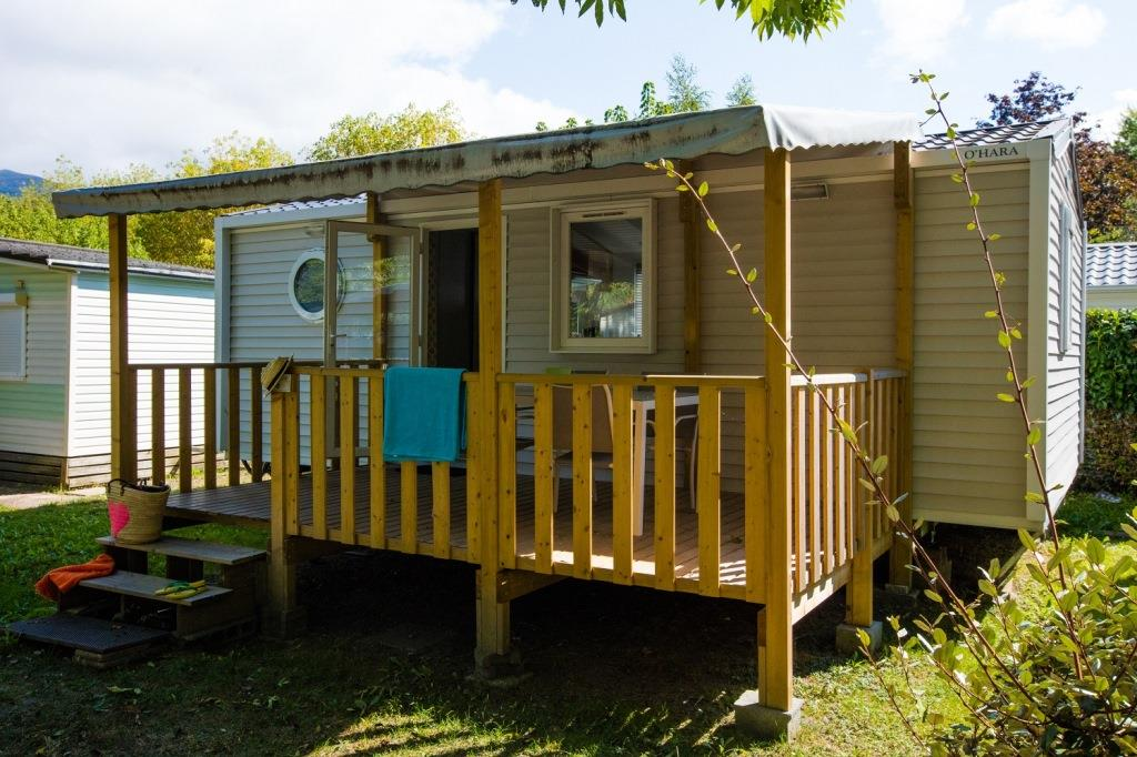 Location - Cottage *** - 2 Chambres - Camping Le Lavedan