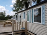 Rental - Mobile home 32m² / 3 Bedrooms - Camping du Lac des Varennes