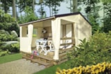 Rental - Mobile home Tit'home 21m² - 2 bedrooms / without toilet block - Camping du Lac des Varennes