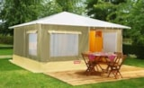 Rental - Tent Caraïbe 19m² - 2 bedrooms / without toilet block - Camping du Lac des Varennes