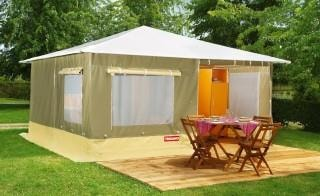 Tent Caraïbe 19m² - 2 bedrooms / without toilet block