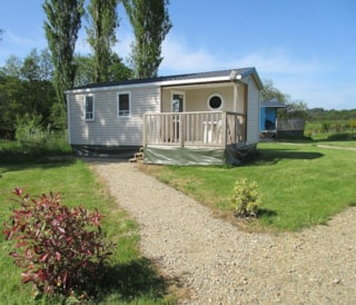 Mobile home SUPERIEUR + Half-covered terrace 27 m² / 2 bedrooms (2014)