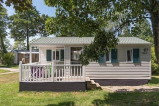 Mobile home CLASSIC 27 m² / 2 bedrooms + Half-covered terrace (2004)