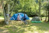 Pitch - Package NATURE (2 people + 1 car or a motorbike + 1 tent) (Motorhome not allowed) - Camping de Mesqueau