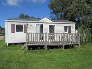 Mobile home ECO 2 bedrooms + Terrace 27m² (2008)