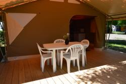 Rental - Tent Lodge Family - 2 Bedrooms - Camping Acacias