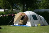 Pitch - Pitch small tent - Camping 't Weergors