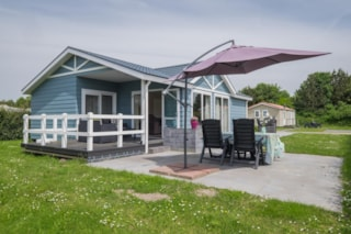 Spacious chalet with disabled access
