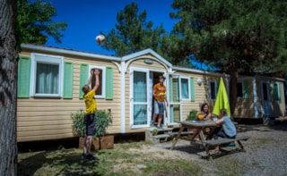 Mobil-Home Constellation + Astria (L5+D6) (Sleeps 8 To 12 Peeople)