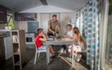 Rental - Mobil-home IRM Super Apollon S1 (sleeps 8 to 10 people) - Camping MARINA PLAGE