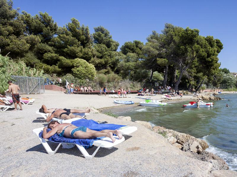Plages Camping MARINA PLAGE - VITROLLES
