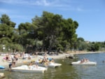 Leisure Activities Camping Marina Plage - Vitrolles