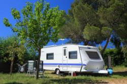Camping Pitch Caravan / Motorhome / Van (Including 2 Persons & 1 Vehicle)