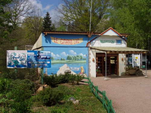 Camping le Grand Lac, Marval, Haute-Vienne