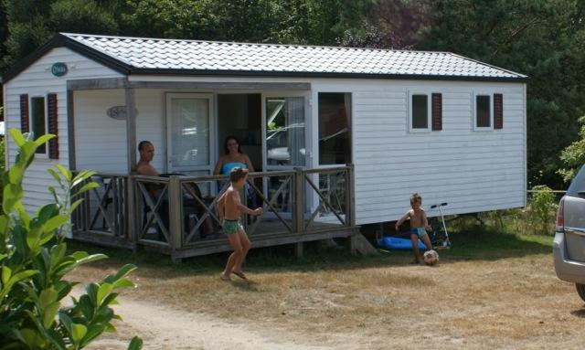 Mobil-home 4 personnes (2 chambres) 29 m2