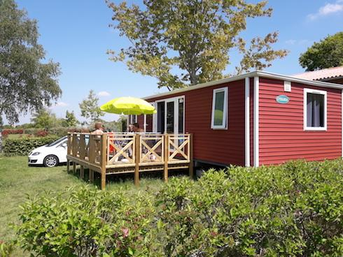 Mobil-home XL 2 chambres 33 m2