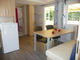 Rental - Mobile home CONFORT Wheelchair friendly - 2 bedrooms - CAMPING LANDES BLEUES