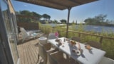Rental - Cottage Royal Malibu Premium (Air-Conditioning) - 3 Bedrooms - Jacuzzi - YELLOH! VILLAGE - DOMAINE DU COLOMBIER